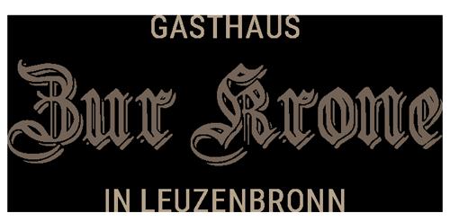 Logo Gasthaus Zur Krone in Leuzenbronn