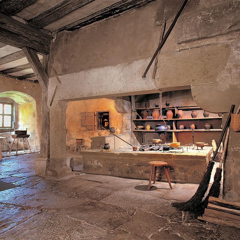 Die Klosterküche im Rothenburg Museum